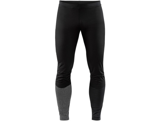 Craft Urban Run Thermal Wind Tights Men black/silver reflective